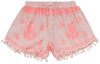 Melissa Odabash Embroidered Shorts
