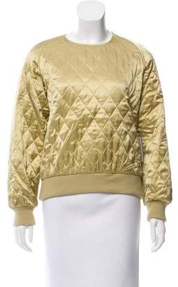 Max Mara Quilted Silk Top w/ Tags