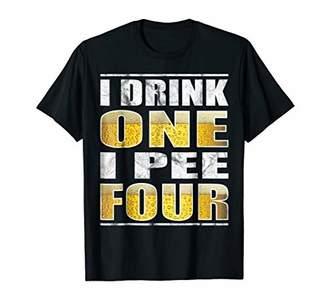 IPA Lot When I Drink Beer T-Shirt Funny Beer Drinking Tee