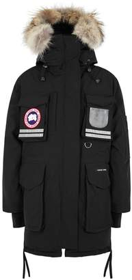 Canada Goose Snow Mantra Black Fur-trimmed Parka