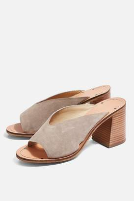 Topshop **Wide fit Heeled Mules