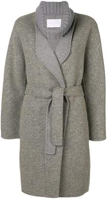 Fabiana Filippi belted robe coat