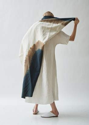 Seya Amami Island Vegetable Dyed Wool Throw Blanket