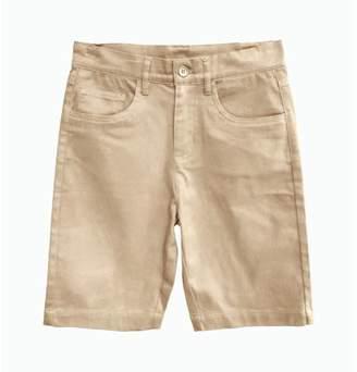 Eddie Bauer Boys Uniform 5 Pocket Stretch Twill Short