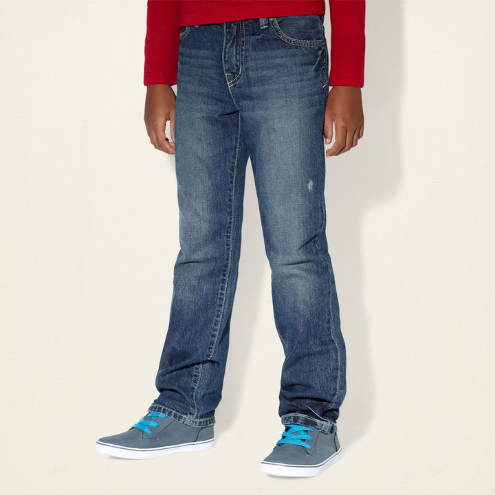 Children's Place Relaxed straight jeans - legend - slim