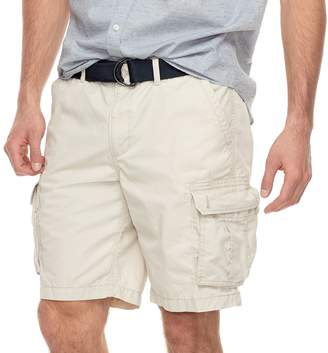 Sonoma Goods For Life Big & Tall SONOMA Goods for Life Modern-Fit Lightweight Twill Belted Cargo Shorts