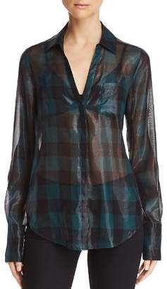 Paige Bevyn Plaid Shirt