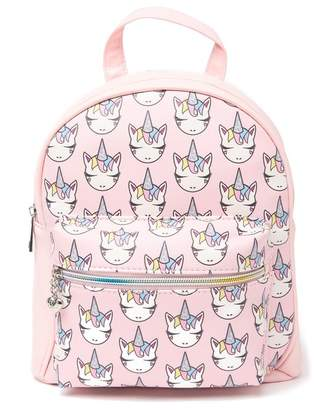 OMG! Accessories Whimsical Unicorn Printed Mini Backpack
