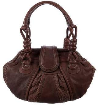 Loeffler Randall Leather Frame Shoulder Bag