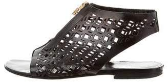 Pierre Hardy Cutout Leather Sandals