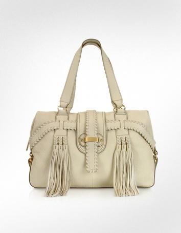 David & Scotti Barley - Medium Leather Satchel Bag