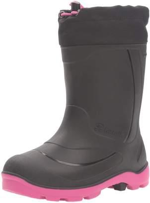 Kamik Girl's Snobuster1 Snow Boots, Black/Magenta