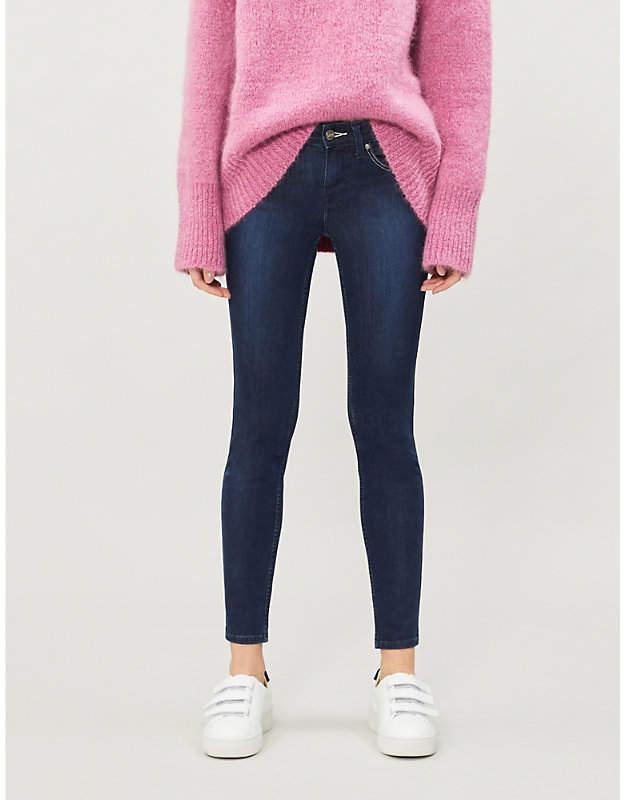 Scarlett skinny high-waist jeans