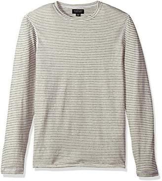 Velvet by Graham & Spencer Men's Velvet Westy Stripe Long Sleeve Sweater