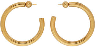 Sophie Buhai Gold Medium Everyday Hoop Earrings