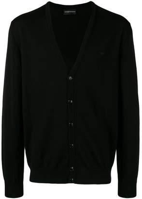 Emporio Armani v-neck cardigan