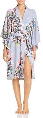 Natori Garbo Floral Print Robe