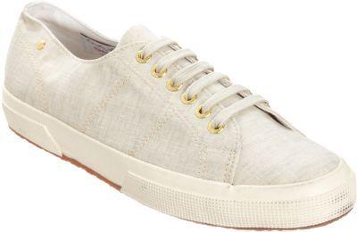 The Row Linen Low Top Sneaker