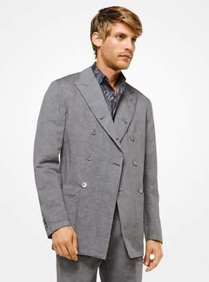Michael Kors Cotton and Linen Blazer