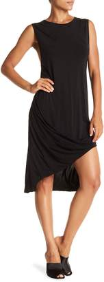 Do & Be Do + Be Asymmetrical Twist Hem Dress