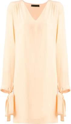 Talie Nk silk shift dress