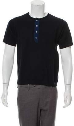 Marc Jacobs Cashmere Short Sleeve T-Shirt