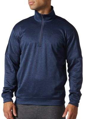 Adidas Team Issue Quarter-Zip Fleece Pullover