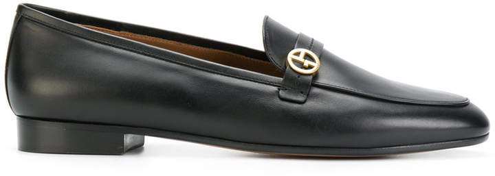 Giorgio Armani buckled loafers