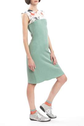 Clara Kaesdorf Slim Dress Green