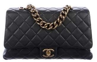 Chanel Paris-Rome Large Trapezio Flap Bag
