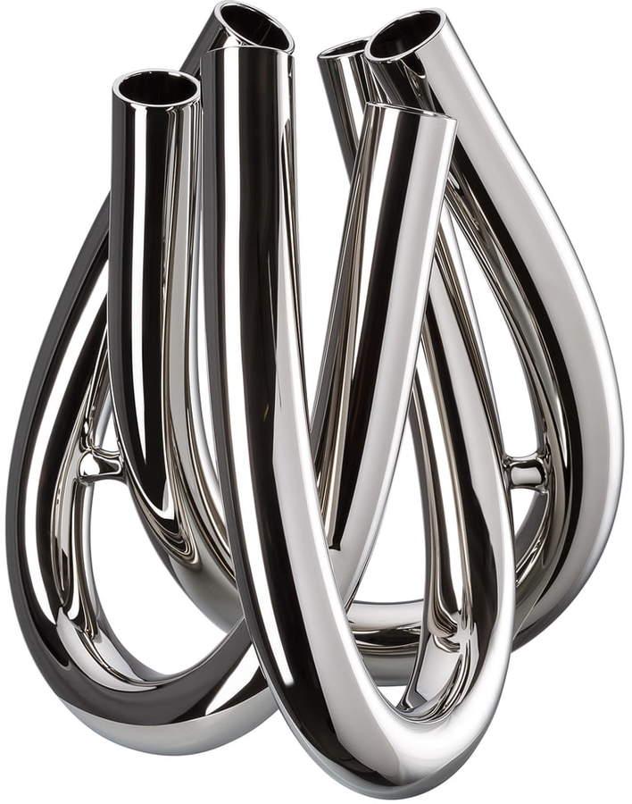 Triu Vase H 22 cm, Silber
