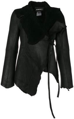 Ann Demeulemeester Sander wrap-around coat