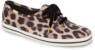 Kate Spade Keds® for Keds® x champion leopard spot satin sneaker