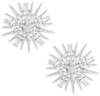 Adriana Orsini Starburst Large Clip-On Earrings