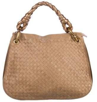 Bottega Veneta Metallic Intrecciato Chain-Link Bag