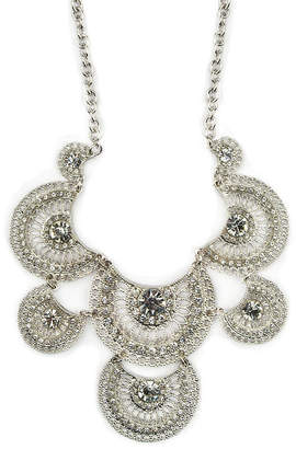 clear Decree Womens Statement Necklace
