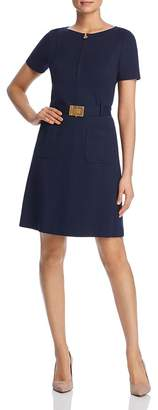 Tory Burch Belted A-Line Dress