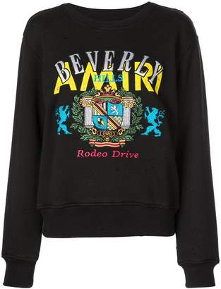 Amiri printed sweatshirt