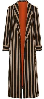 Etro Striped Cady Coat