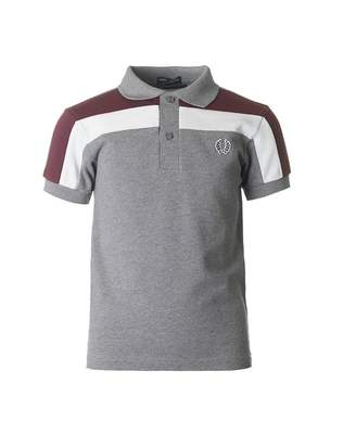 Fred Perry Kids Chest Panel Logo Short Sleeved Polo