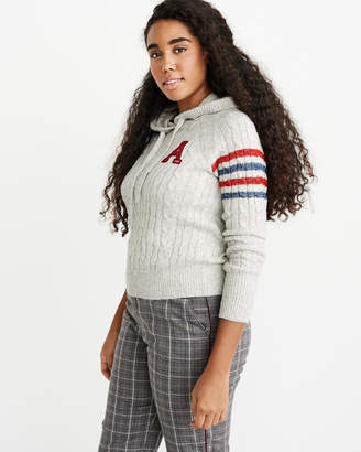 Abercrombie & Fitch Varsity Logo Hoodie