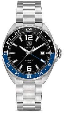 Tag Heuer Formula 1 Watch with Black and Blue Bezel, 41mm