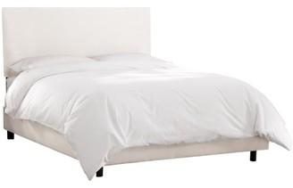 Skyline Furniture Premier White Upholstered Bed