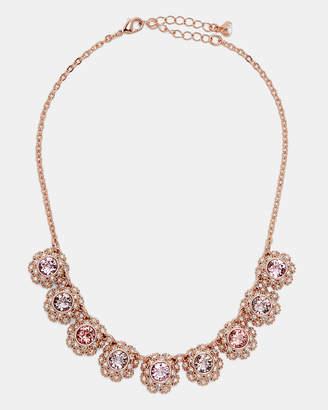 Ted Baker SIERO Swarovski daisy lace necklace