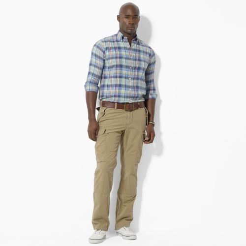 Polo Ralph Lauren Big & Tall Faded Cargo Pant