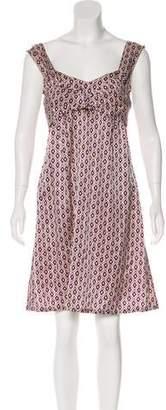 Mayle Sleeveless A-Line Dress