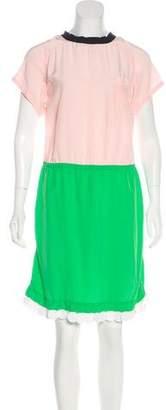 Marni Silk Sequin-Embellished Dress