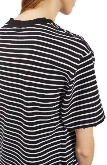 Women's Topshop Stripe Boxy Tee 3
