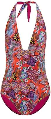 Etro Printed one-piece swimsuit