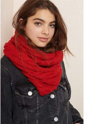 Garage Cable Knit Infinity Scarf